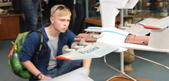 "Gifted graduates of the Educational Center ""Sirius"" participate in the scientific events of TsAGI"