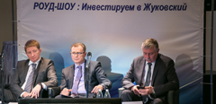 "TsAGI Introduces Its Projects at the First Road Show ""Investing in Zhukovsky"" in the Moscow Region"