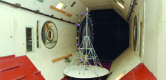 Wind tunnel tests of new Ferris wheel by TsAGI scientists