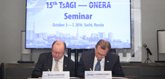 Sochi hosts the 15th anniversary seminar of TsAGI–ONERA