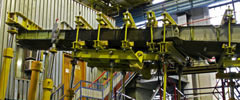 First stage of endurance tests on wing box from polycomposite materials completed