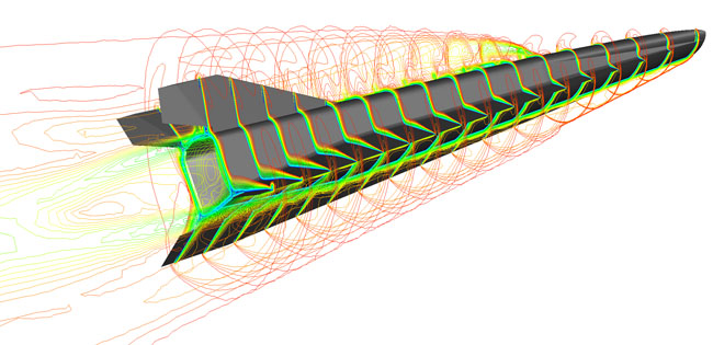 Model of HEXAFLY-INT / illustration from www.esa.int