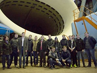 •	A souvenir photo to remember the tour taken on the backdrop of Europe's largest subsonic wind tunnel.