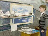 •	The youngest guests of the aviation science centre - future engineers, scientists and scholars - also showed strong interest in the exhibits of the TsAGI museum, i.e., the models of aircraft and helicopters.